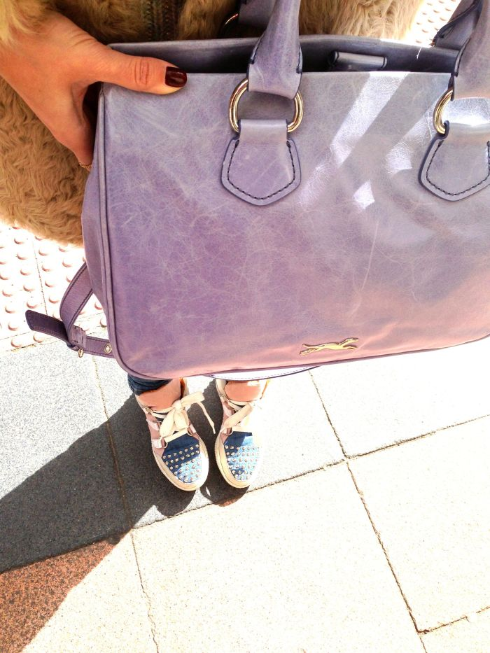 Bag: Bimba & Lola Sneakers: Sandro