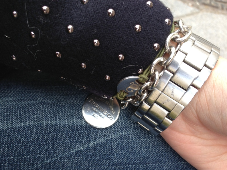 Watch: Zadig & Voltaire Bracelet: Tiffany & Co and Aristocrazy