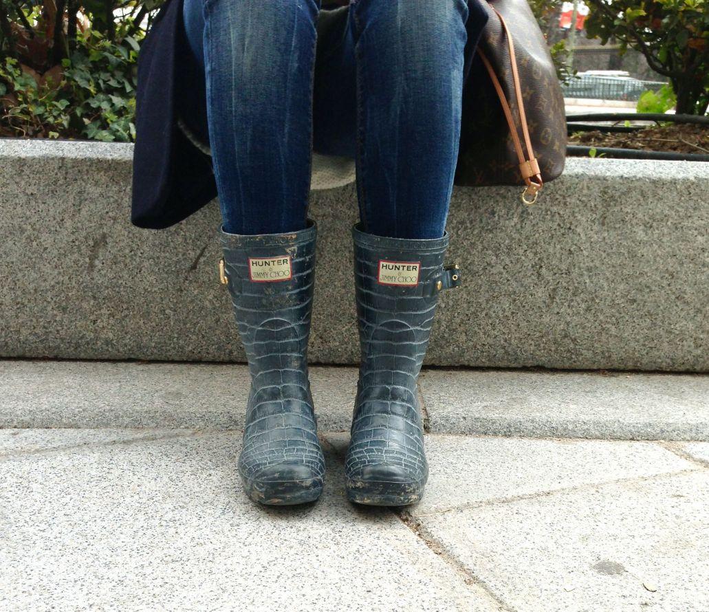 Boots: Jimmy Choo